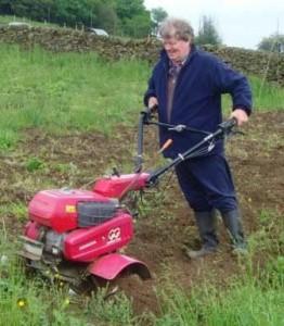 Jeremy Knight organic gardening