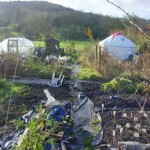 Allotment with Yurt
