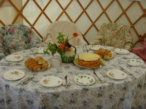 Table Laid for Tea