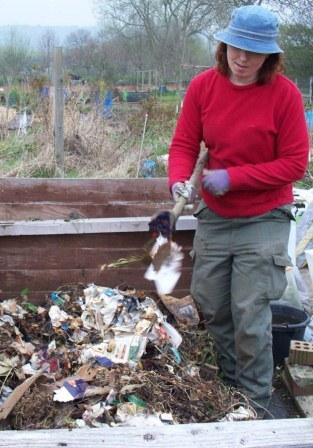 Leaflet - compost
